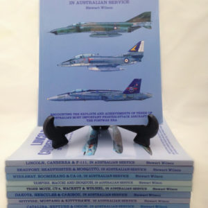 Stewart Wilson Complete Australian Service Aircraft Collection - - The Nook Yamba Second Hand Books
