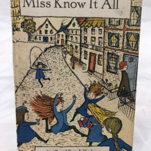 Miss Know It All - First UK Edition by Carol Beach York - The Nook Yamba Second Hand Books